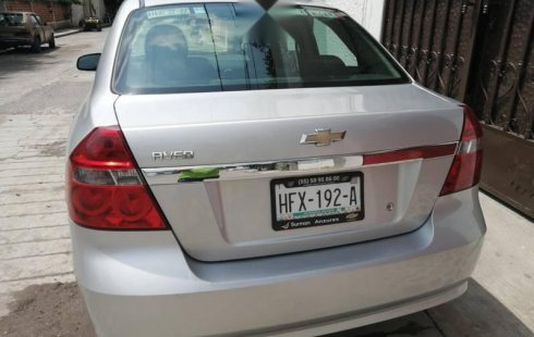 Quiero vender urgentemente mi auto Chevrolet Aveo 2016 muy bien estado