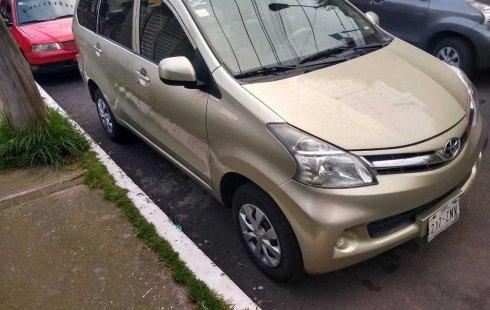 Se pone en venta un Toyota Avanza