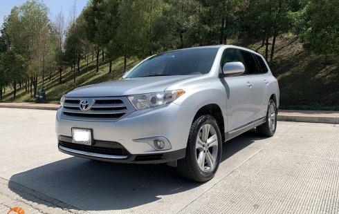 Toyota Higlander 2012 PIEL QC RIN 19 ÚNICO DUEÑO IMPECABLE