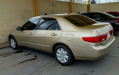 Quiero vender inmediatamente mi auto Honda Accord 2005 muy bien cuidado
