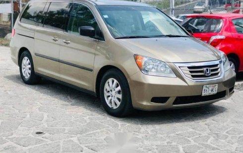 Se vende un Honda Odyssey 2009 por cuestiones económicas