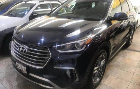 Hyundai Santa Fe 2018 barato en Zapopan
