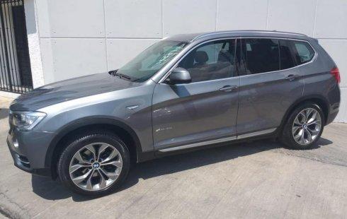 BMW X3 2016 barato en Huixquilucan