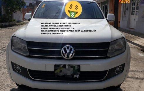 Equipada Amarok Diesel 4X4 2014 Puebla
