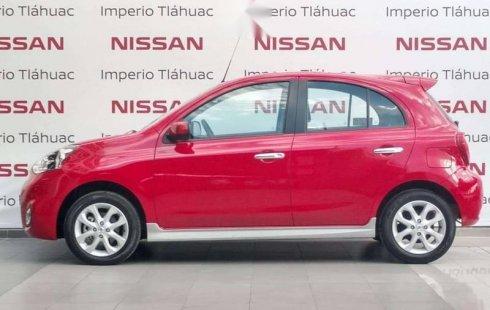 Nissan March 2019 barato en Tláhuac