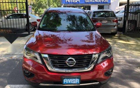 Quiero vender inmediatamente mi auto Nissan Pathfinder 2017
