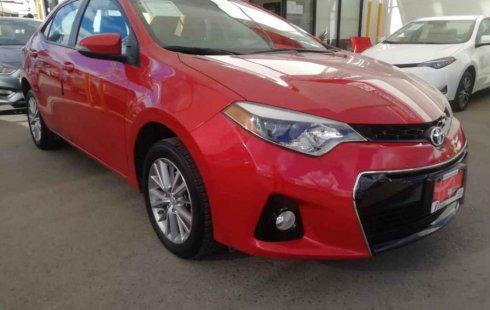 Se vende urgemente Toyota Corolla 2015 Automático en San Luis Potosí