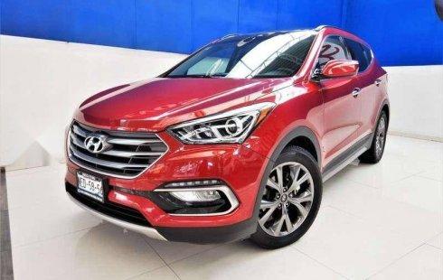 Se vende urgemente Hyundai Santa Fe 2017 Automático en Coyoacán
