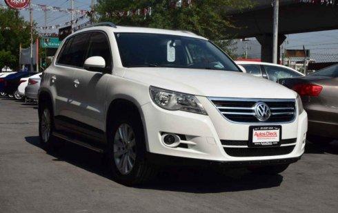 Un excelente Volkswagen Tiguan 2010 está en la venta