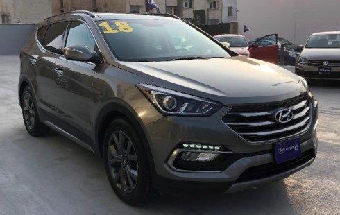 No te pierdas un excelente Hyundai Santa Fe 2018 Automático en León