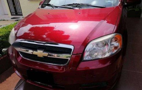 En venta un Chevrolet Aveo 2011 Automático en excelente condición