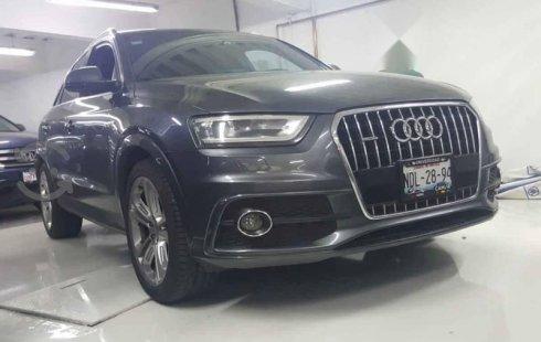 Quiero vender inmediatamente mi auto Audi Q3 2015 muy bien cuidado