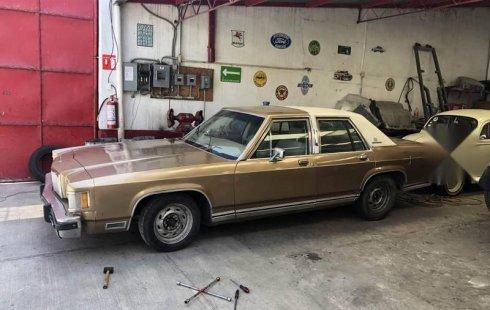 Quiero vender inmediatamente mi auto Ford Grand Marquis 1983 muy bien cuidado