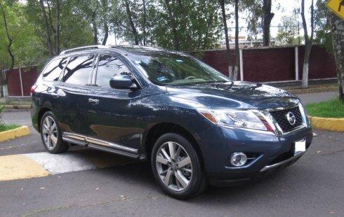 Se pone en venta un Nissan Pathfinder