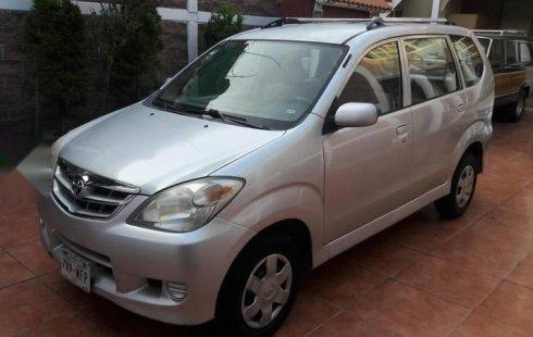 Se vende urgemente Toyota Avanza 2008 Automático en Tláhuac