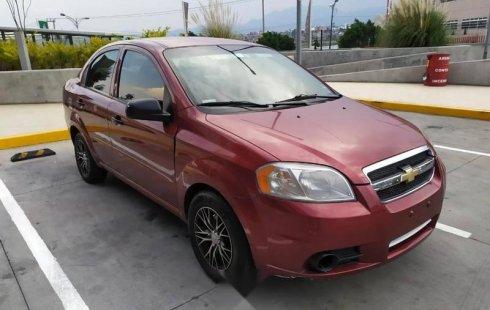 Quiero vender urgentemente mi auto Chevrolet Aveo 2011 muy bien estado