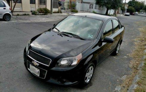 Se vende urgemente Chevrolet Aveo 2013 Manual en Nuevo León