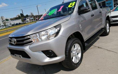 Urge!! Un excelente Toyota Hilux 2018 Manual vendido a un precio increíblemente barato en Atlacomulco