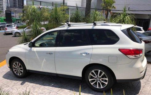 Quiero vender inmediatamente mi auto Nissan Pathfinder 2015
