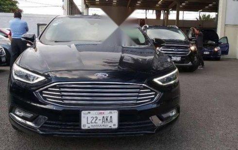 Carro Ford Fusion 2017 en buen estadode único propietario en excelente estado