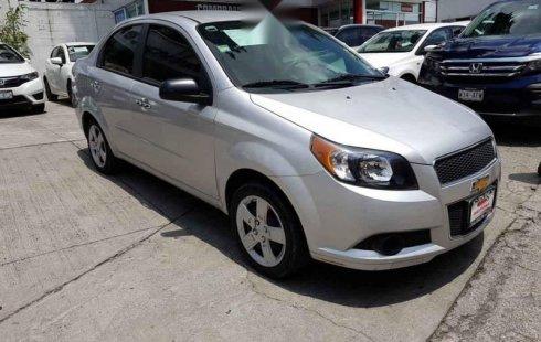 Chevrolet Aveo impecable en Cuajimalpa de Morelos más barato imposible