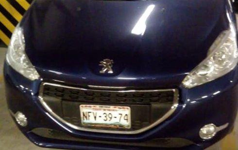 Peugeot 208 2016 Azul marino