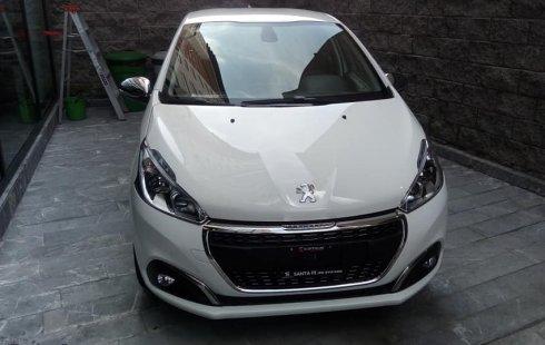 Peugeot 208 2020 Blanco
