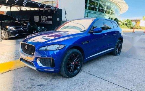 Quiero vender inmediatamente mi auto Jaguar F-PACE 2017 muy bien cuidado