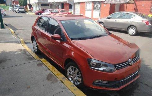 En venta un Volkswagen Polo 2017 Manual muy bien cuidado