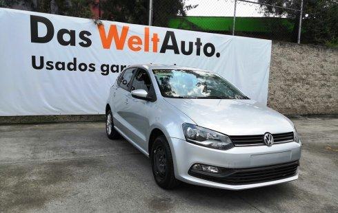 En venta un Volkswagen Polo 2017 Manual en excelente condición