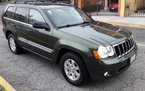 Jeep Grand Cherokee 2009 barato en México State
