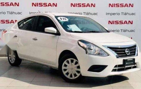Quiero vender urgentemente mi auto Nissan Versa 2018 muy bien estado