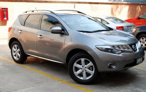 Nissan Murano LE 4WD 2009, 94 mil Km, hermosa, full equipo