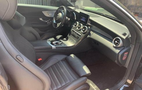 En venta un Mercedes-Benz Clase C 2018 Automático en excelente condición