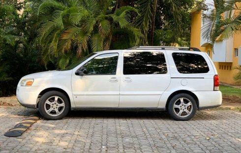 Chevrolet Uplander 2007 Blanca en Playa del Carmen: Único Dueño