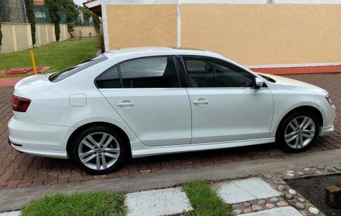 Volkswagen Jetta Sportline Triptronic 2017 Blanco (equipo adicional original)