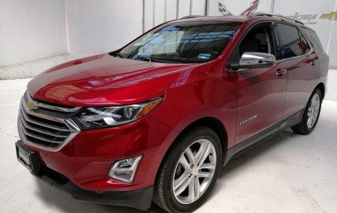 Carro Chevrolet Equinox 2018 en buen estadode único propietario en excelente estado