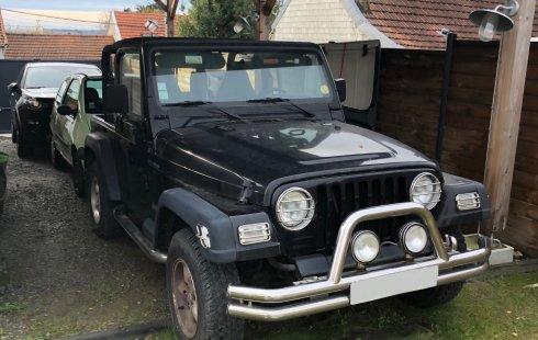 Jeep Wrangler 1997 Negro