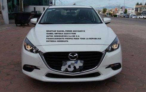 Excelente Mazda 3 2018 Puebla