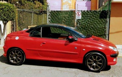 Hermoso Peugeot Convertible 206CC versión Roland Garros-2005