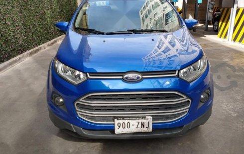 Ford EcoSport impecable en Iztacalco más barato imposible