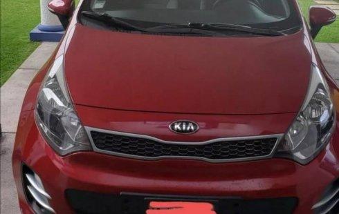 Quiero vender inmediatamente mi auto Kia Rio 2016 muy bien cuidado