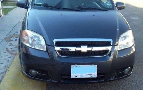 Se vende urgemente Chevrolet Aveo 2011 Automático en Tlaquepaque
