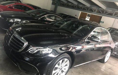 Mercedes-Benz Clase E 200 Exclusiv Modelo 2019 negro