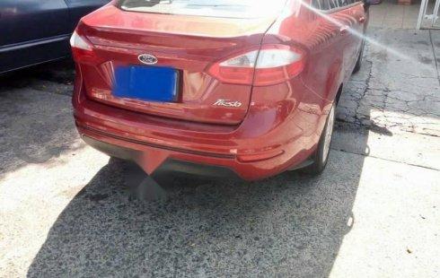 Un Ford Fiesta 2016 impecable te está esperando