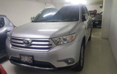En venta un Toyota Highlander 2012 Automático muy bien cuidado