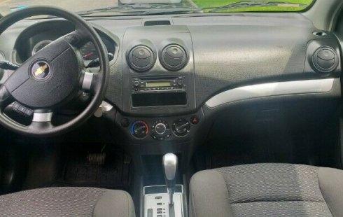 En venta un Chevrolet Aveo 2014 Automático en excelente condición