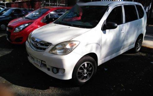 Un excelente Toyota Avanza 2008 está en la venta