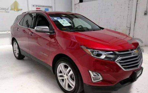 Un excelente Chevrolet Equinox 2018 está en la venta