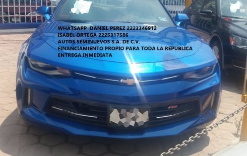 Deportivo Camaro RS 2017 Puebla
